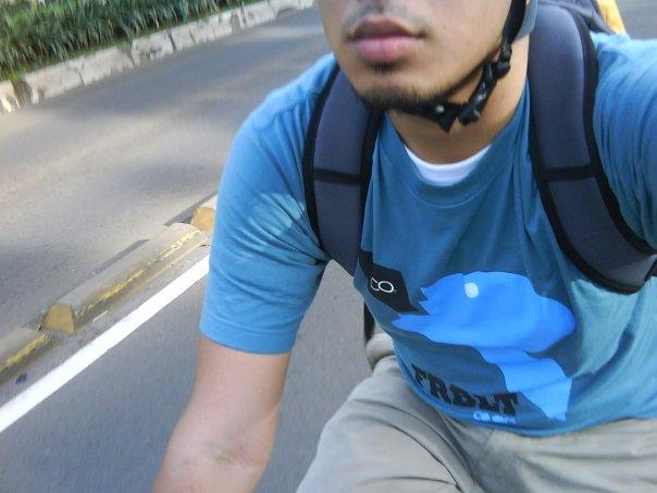 saat Car Free Day Jl. Jend. Sudirman, JKT